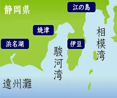 遠州灘地図